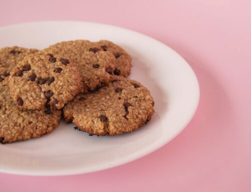Oat Banana Chocolate Cookies